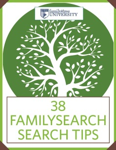 FamilySearch Search Tips
