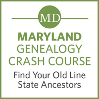 Maryland Genealogy Crash Course